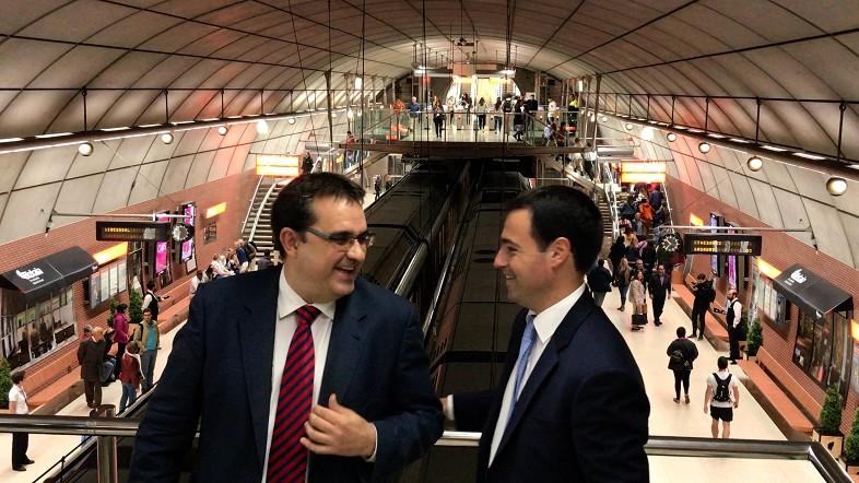 Metro Bilbaoko Moyuako geltokia 50 Best jatetxe bat bilakatu da