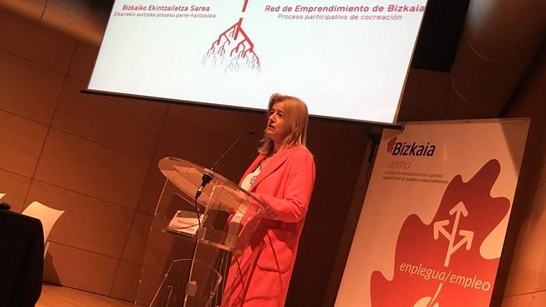 La Red en favor del Emprendimiento en Bizkaia 'Sarekin' ya cuenta con un Plan de Acción 2018-19