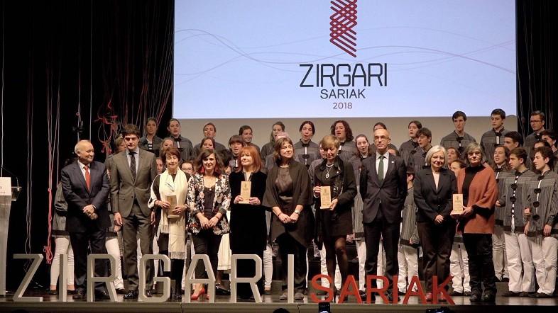 Bizkaia reconoce la labor de Adela Asua, Zinemakumeak Gara!, Mutualia y Hermanas Oblatas por  la igualdad de mujeres y hombres