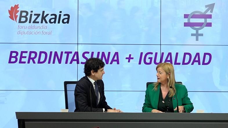 Aprobado el proyecto de Norma Foral de Igualdad que apuesta por un cambio de valores con más inversión y personal