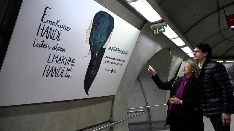 Campaña de la Diputación contra la violencia machista