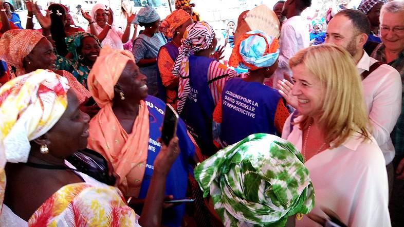 Laespada, Senegal.