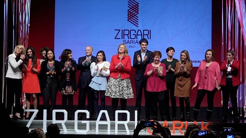 Carmen Bernabék, Clara Campoamor elkarteak, Píkara Magazine aldizkariak, SSI taldeak eta Ingeteamek jaso dituzte Zirgari Sariak