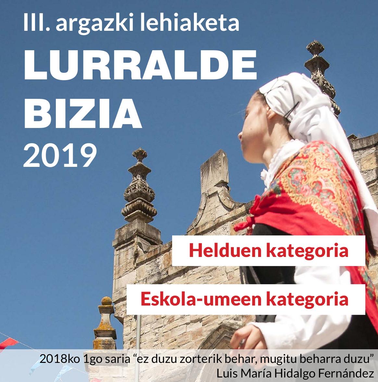 III. argazki lehiaketa - Lurralde Bizia 2019.