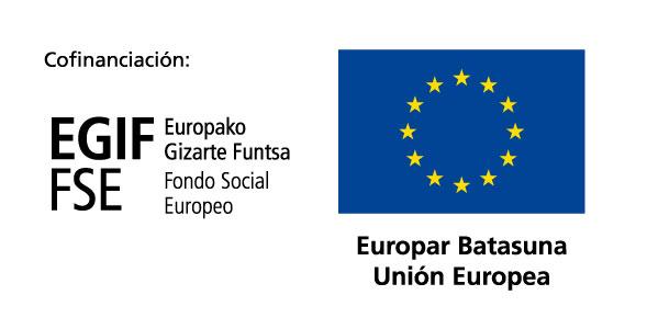 Cofinanciación: Fondo Social Europeo