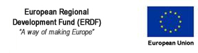 European Union. European Regional Development Fund (ERDF). A way of making Europe.